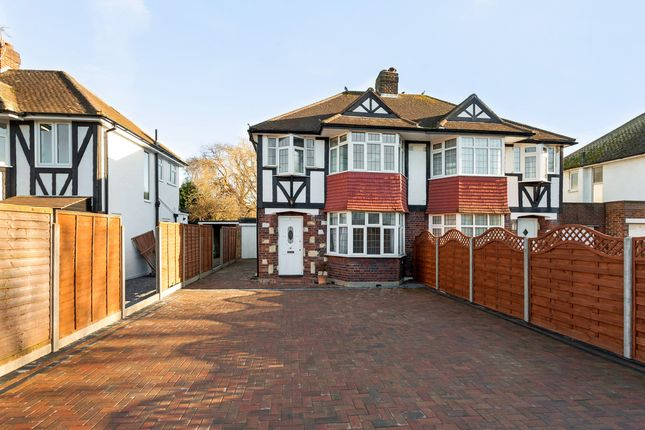 Thumbnail Semi-detached house for sale in Robin Hood Way, London