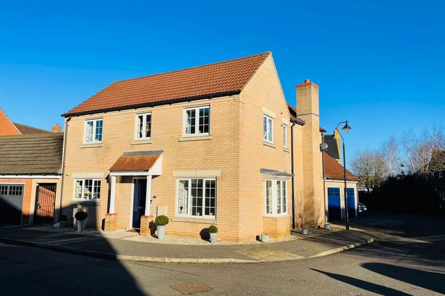 Thumbnail Detached house for sale in Rye Close, Littleport, Ely