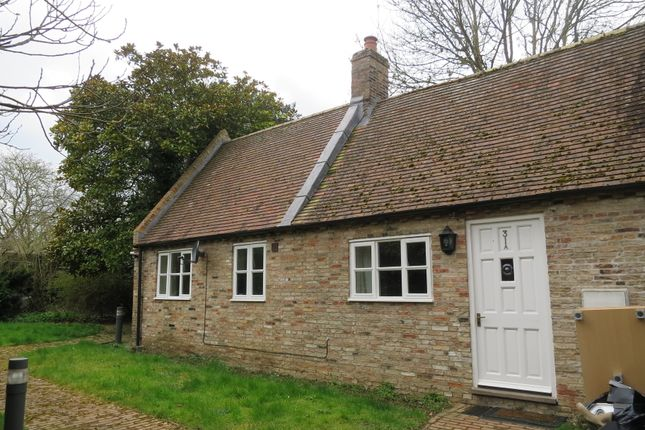 Thumbnail Detached bungalow to rent in Market Place, Ely