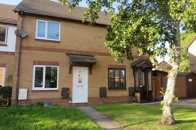 Thumbnail Terraced house for sale in Clos Cilsaig, Dafen, Llanelli