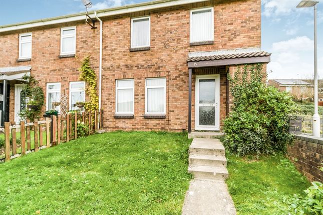 Thumbnail End terrace house for sale in Tilly Close, Plymstock, Plymouth