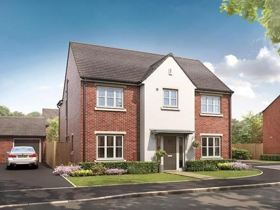 Thumbnail Detached house for sale in Broughton Chase, Crowfoot Way, Broughton Astley, Leicester