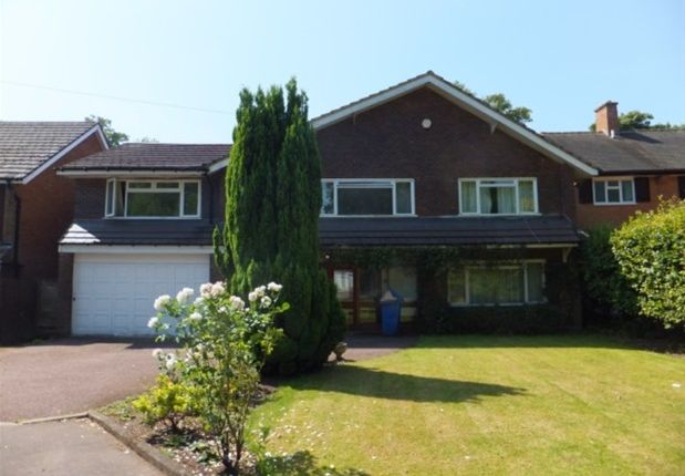 Thumbnail Detached house to rent in The Spinney, Little Aston, Sutton Coldfield