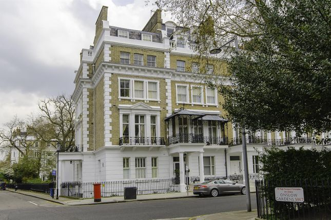 Thumbnail Flat for sale in Onslow Gardens, London