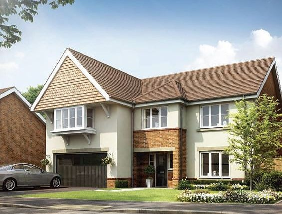Thumbnail Detached house for sale in Beech Hill Road, Spencers Wood, Reading