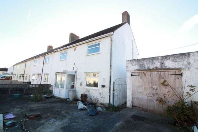 Thumbnail End terrace house for sale in Brynglas, Gilwern, Abergavenny