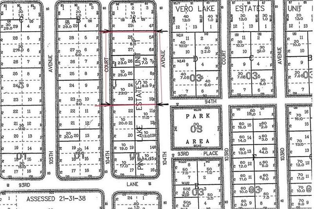 Thumbnail Land for sale in 9455 104th Avenue, Vero Beach, Florida, United States Of America