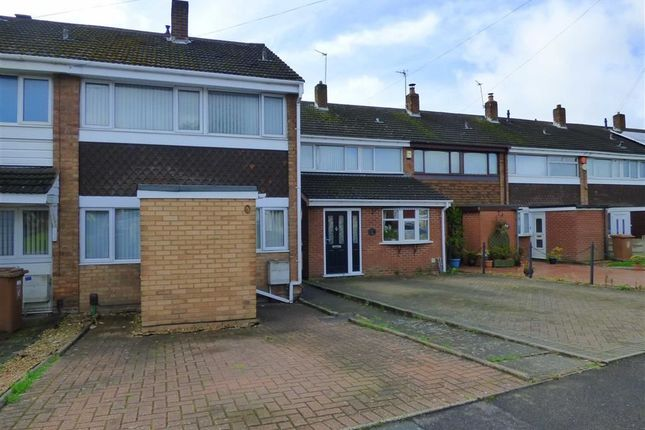 Thumbnail End terrace house for sale in The Hayes, Willenhall, West Midlands