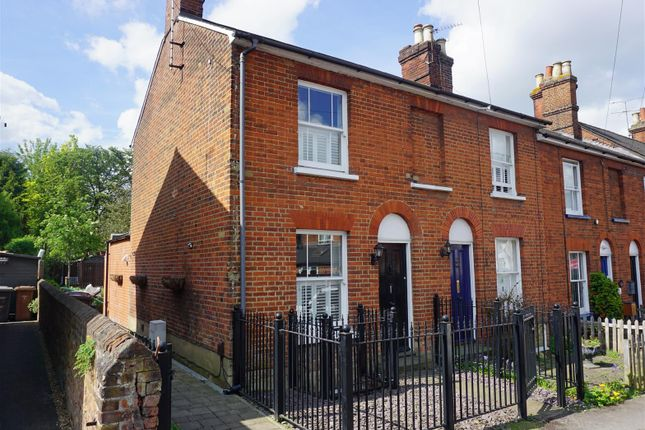 Thumbnail End terrace house for sale in Trevor Road, Hitchin