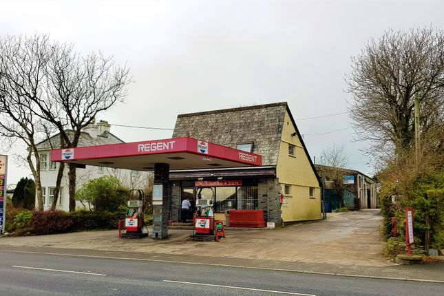 Thumbnail Commercial property for sale in Profitable Village Petrol Station & Shop PL33, Cornwall