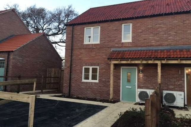 3 bed semi-detached house for sale in Moorfields, Bedale, North Yorkshire