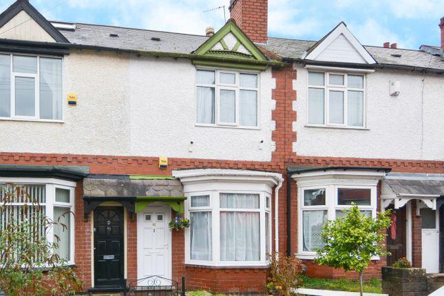 Thumbnail Terraced house for sale in Swindon Road, Edgbaston, Birmingham