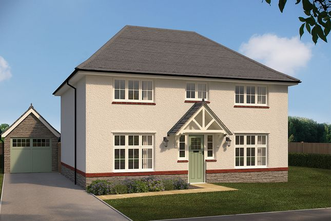 "Thumbnail Detached house for sale in ""Harrogate"" at Cae Newydd, St. Nicholas, Cardiff"