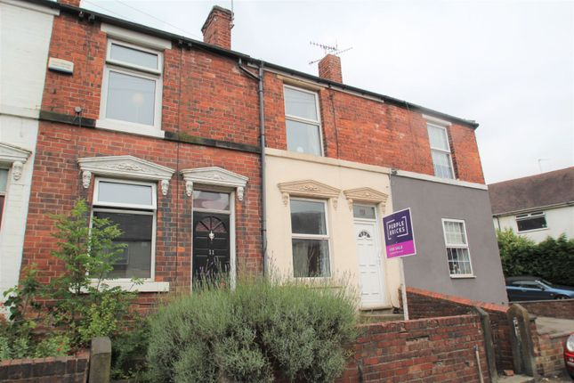 Thumbnail Terraced house for sale in Scarsdale Road, Dronfield