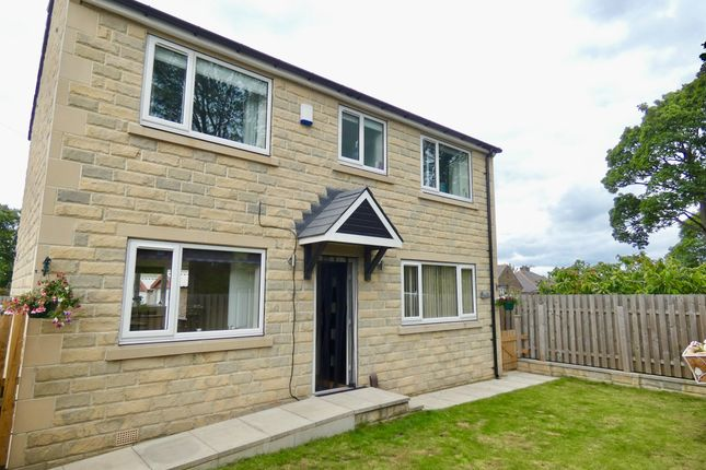 Thumbnail 3 bed detached house for sale in Clough Lane, Brighouse