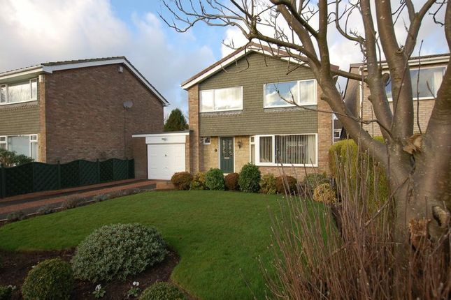 Thumbnail Detached house for sale in Church Close, Dinnington, Newcastle Upon Tyne