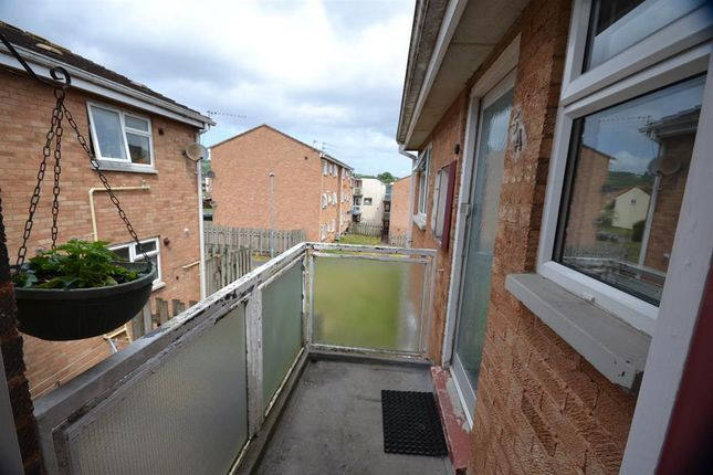 Balcony of Carlyon Close, Exeter EX1