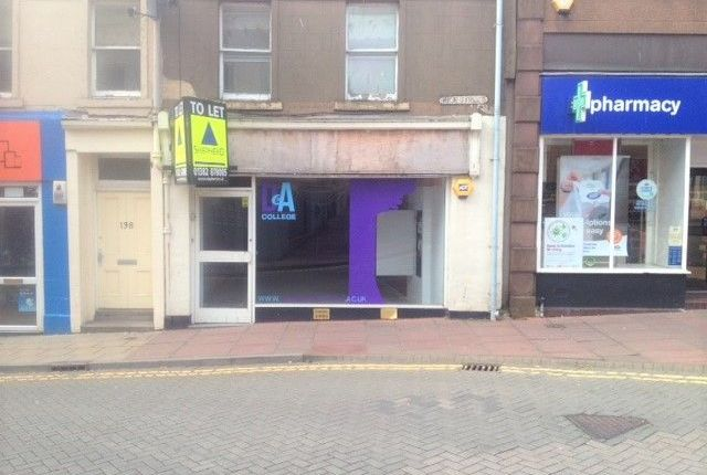 Commercial property for sale in High Street, Arbroath