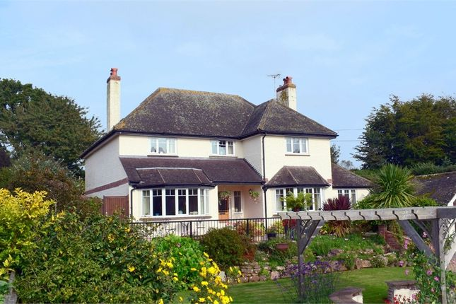 Thumbnail Detached house for sale in Knowle Road, Budleigh Salterton