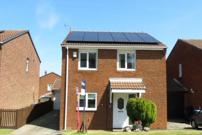 Thumbnail Detached house for sale in Dilston Close, Peterlee, Durham