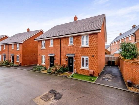 Thumbnail 3 bed semi-detached house for sale in South Meadow, Marston Moretaine, Bedford, Bedfordshire