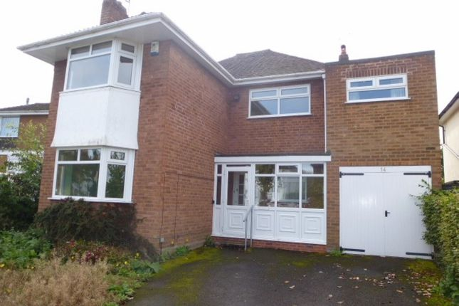 Thumbnail Detached house to rent in Westland Avenue, Wolverhampton