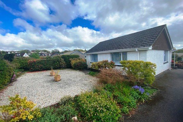 Thumbnail Bungalow to rent in Milton Crescent, Tavistock