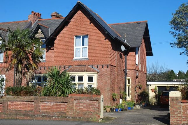 Thumbnail Semi-detached house for sale in Westhill Road, Torquay