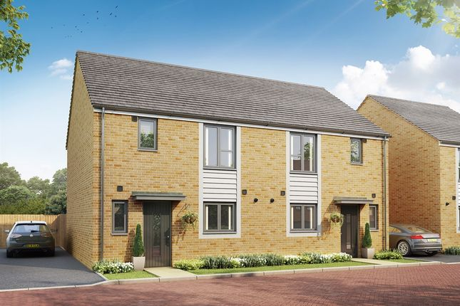 "Thumbnail Semi-detached house for sale in ""The Chester"" at Marsh Lane, Harlow"