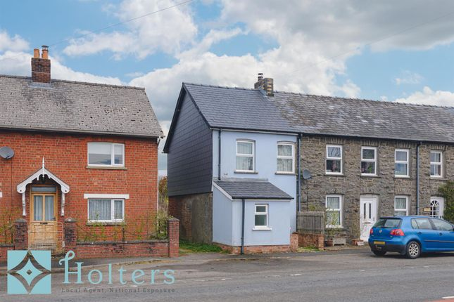 Thumbnail End terrace house for sale in Garth, Llangammarch Wells