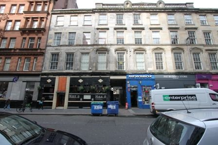 Thumbnail Flat for sale in Queen Street, Glasgow