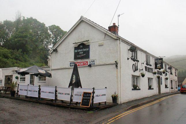 Thumbnail Pub/bar for sale in High Street, Pontneddfechen