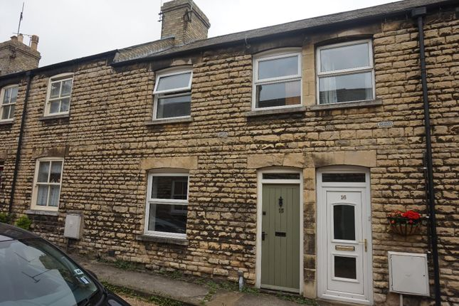 Thumbnail Terraced house to rent in Cornstall Buildings, St. Leonards Street, Stamford