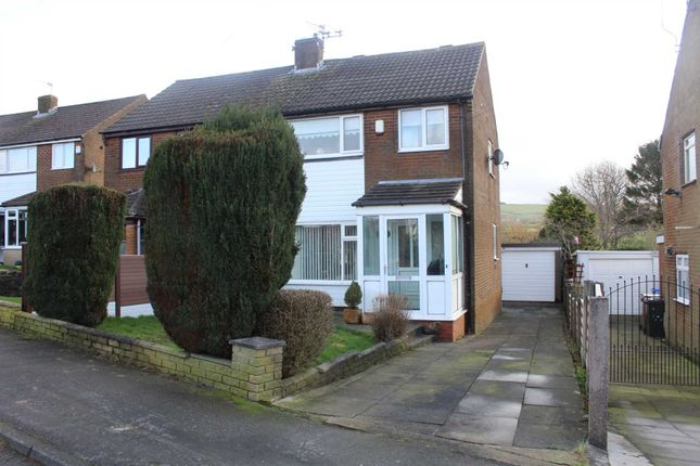 Thumbnail Semi-detached house for sale in Pennine Drive, Milnrow, Rochdale