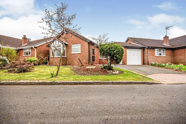 Thumbnail Detached bungalow for sale in Burnthurst Crescent, Shirley, Solihull