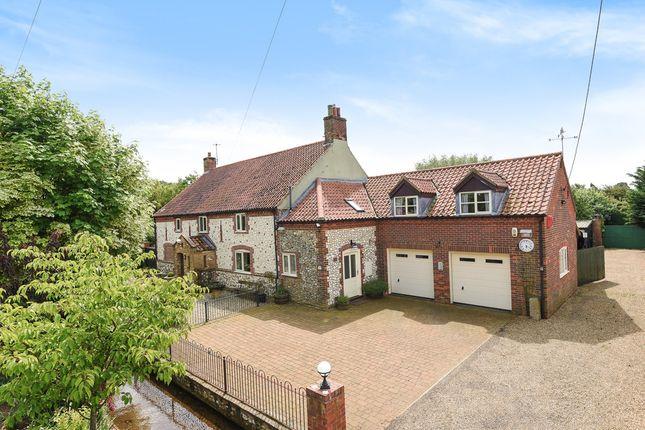 Thumbnail Detached house for sale in Fakenham Road, South Creake, Fakenham