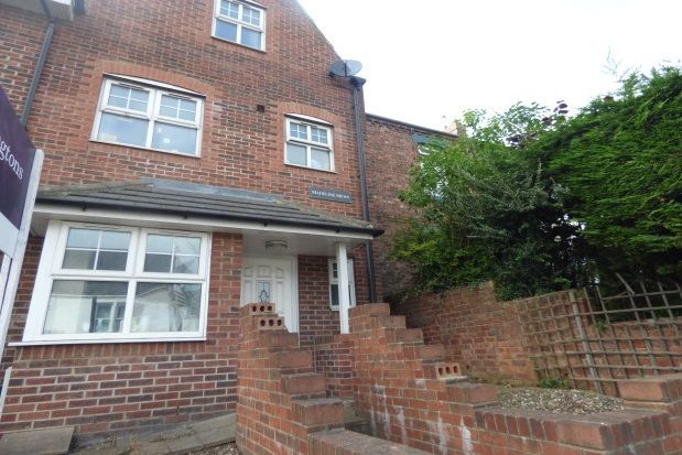 Thumbnail Town house to rent in The Poplars, Durham