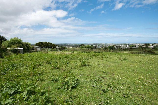 Thumbnail Land for sale in Sandy Lane, Redruth