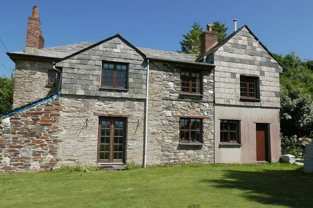 Thumbnail Farmhouse for sale in Downend, Lostwithiel