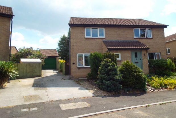 Thumbnail Semi-detached house to rent in Golding Close, Wells