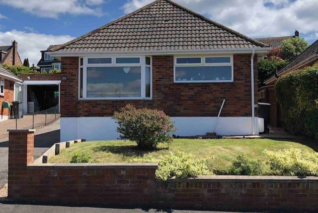 Thumbnail Bungalow for sale in Mount Pleasant Avenue, Exmouth