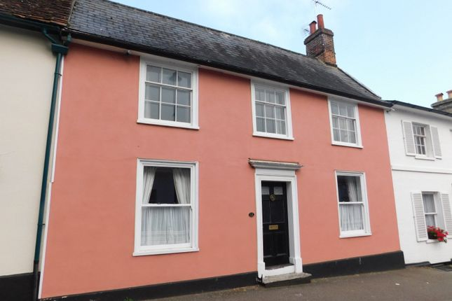 Thumbnail Terraced house for sale in Crowe Street, Stowmarket