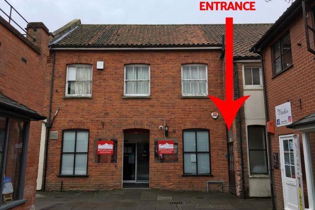 Thumbnail Flat for sale in 6A Aldiss Court, High Street. Dereham, Norfolk