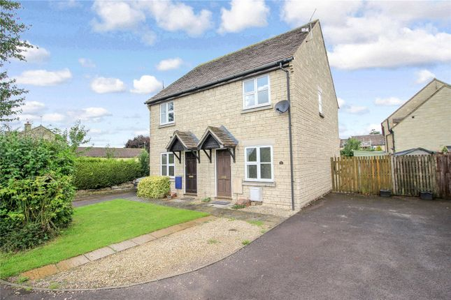 Thumbnail Semi-detached house for sale in Hatherop Road, Fairford