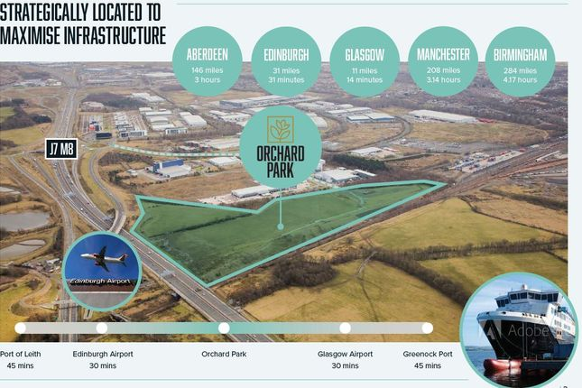 Thumbnail Industrial to let in Eurocentral, Motherwell