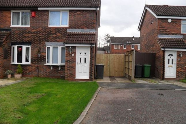 2 bed semi-detached house to rent in Chepstow Close, Callands, Warrington