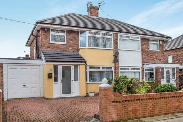 Thumbnail Semi-detached house for sale in Station Road, Woolton, Liverpool