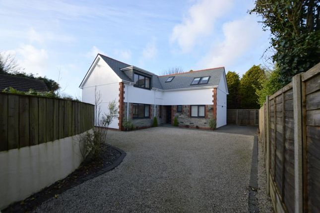 Thumbnail Detached house for sale in West Road, Quintrell Downs, Newquay, Cornwall