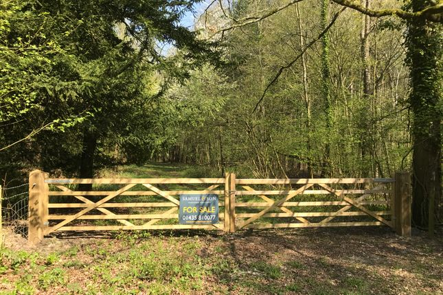 Thumbnail Land for sale in Wellers Town Road, Chiddingstone, Edenbridge
