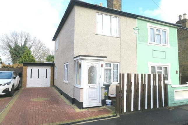 Thumbnail Semi-detached house for sale in New Road, Bedfont, Feltham